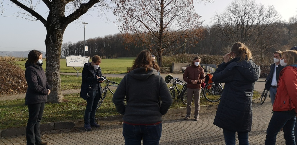 Interview mit SPIEGEL am Waldfriedhof