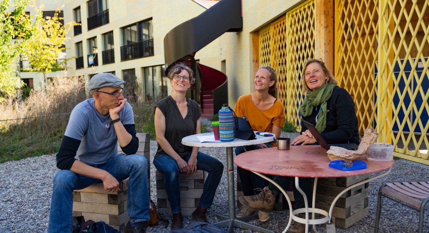 Allmende besichtigt das Wohnprojekt Kalkbreite in Zürich