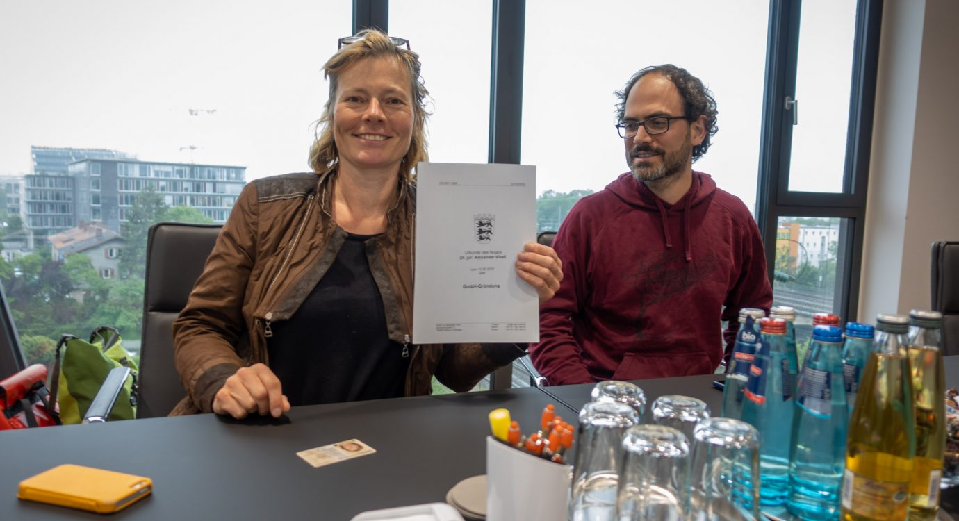 Allmende GmbH Gründung beim Notar